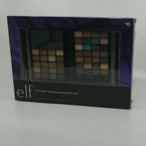 e.l.f 48 color eyeshadow & brush set